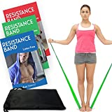 Meglio Resistance Bands - Your Perfect Summer Workout Tool - Pilates & Yoga to Help to Achieve Fitness Physiotherapy and Rehabilitation Goals in Pack of 3 - 1.2m