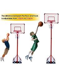 Generic dyhp-a10-code-4698-class-1-- sobre ruedas. Els soporte ajustable ble S libre de pie ckboard baloncesto neto aro sketb tablero con TANDING–-dyhp-uk10–160819–2557