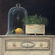 Impresión artística - Arnie Fisk: Limón Campana cristal 30 x 30 cm