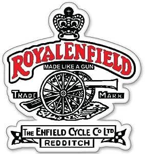 Unbekannt Custom Made Like A Gun Tank Pad Aufkleber Für Royal Enfield City Bike Tank Pad Sport Freizeit
