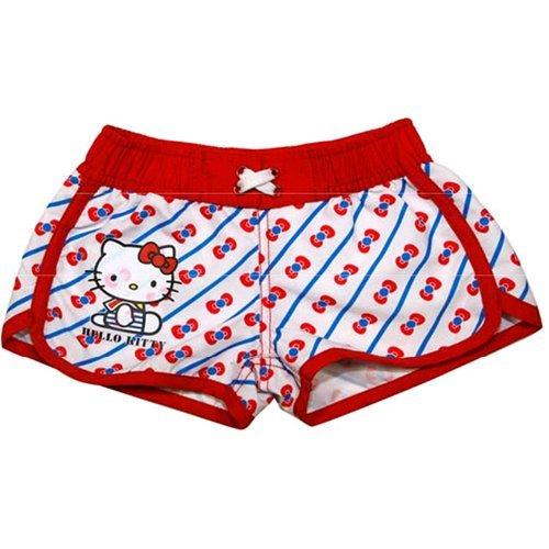 Hello Kitty Hose (Hose kurz Short Mädchen Hello Kitty Jahre 4-08903)