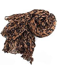 Damen Herren Schal Umschlagtuch Schals Tücher Leopard