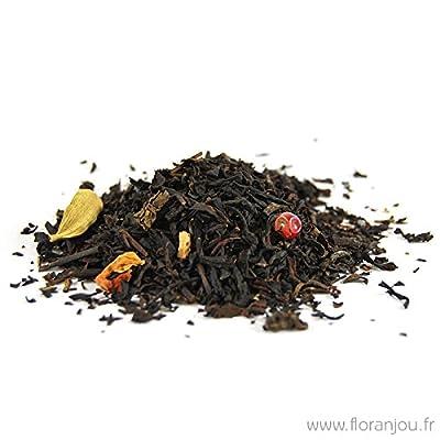 Floranjou - Thé noir &Wu-long mélange chaï aux épices