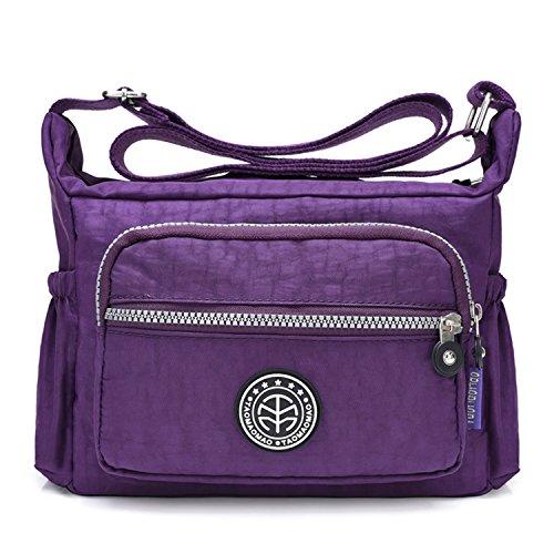 Outreo Umhängetasche Leichter Schultertasche Wasserdicht Taschen Damen Kuriertasche Mode Strandtasche Designer Messenger Bag Sporttasche