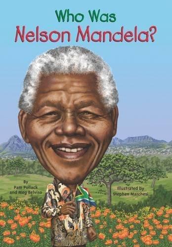 Who Was Nelson Mandela? by Meg Belviso (2014-01-09)