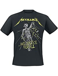 Metallica .and Justice For All - Tracklist T-Shirt Black 5XL