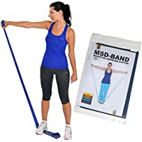 MSD-Band Elastic Exercise Band, Blue 1.5 m Extra Strong Latex by MSD-Band
