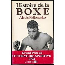 Histoire de la boxe - Edition originale
