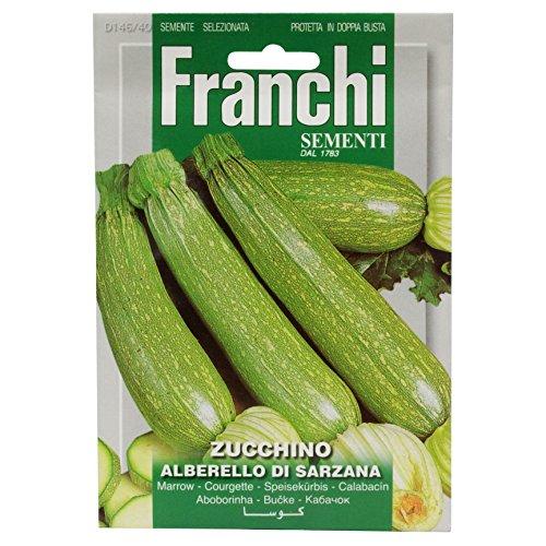 Seeds of Italy Franchi Graines de courgettes Albarello of Sarzana