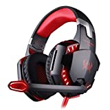 BENGOO Gaming Headset Comfortable 3.5mm Stereo Over-ear Headphone Headband with LED Lighting - Best Reviews Guide