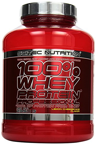 Scitec Nutrition Whey Protein Professional Lemon Cheescake, 1er Pack (1 x 2.35...
