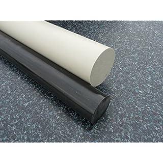 Rundstab aus PP grau Ø 50 mm, Lang 1000 mm Kunststoffrundstab