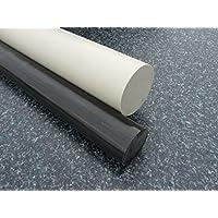 Rundstab aus PP grau Ø 80 mm, Lang 1000 mm Kunststoffrundstab