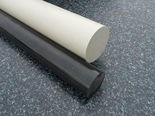 Rundstab aus PP grau Ø 70 mm, Lang 1000 mm Kunststoffrundstab