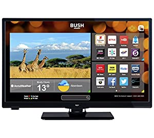 Bush LED24265DVDCNTDFVP 24 Inch Smart Freeview Play LED TV/DVD Combo