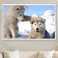 Animal Puppy Diamond Painting Diy5D Full Diamond Embroidery Cross Stitch Diamond Stickers Animal Puppy 30 * 40Cm,11.8 * 15.7Inch