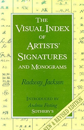 The Visual Index of Artists' Signatures and Monograms by Radway Jackson (1991-12-01)