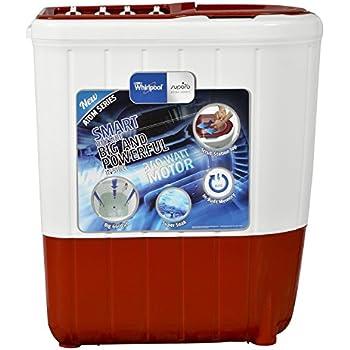 Whirlpool 6.2 kg Semi-Automatic Top Loading Washing Machine (ATOM62S, Ruby)