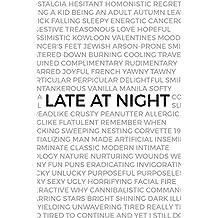 Late at night (English Edition)