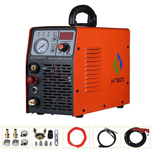 Cortador de plasma 50A Dual Voltage Electric PFC DC Inverter Aire Máquina de corte por plasma CUT40 50 Cortador de metal 1/2 ″ Corte limpio