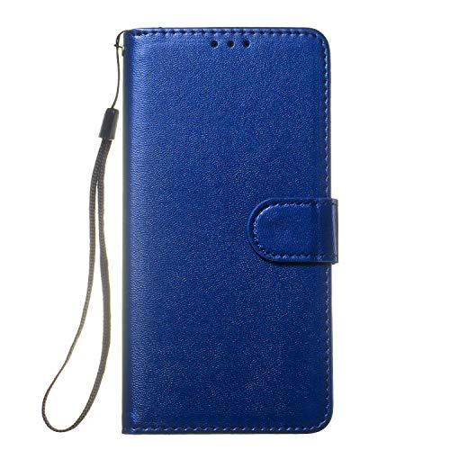 Tosim Sony Xperia XZ2 Hülle Leder, Klapphülle mit Kartenfach Brieftasche Lederhülle Stossfest Handyhülle Klappbar Case für Sony Xperia XZ2 - TOYHU250652 T2