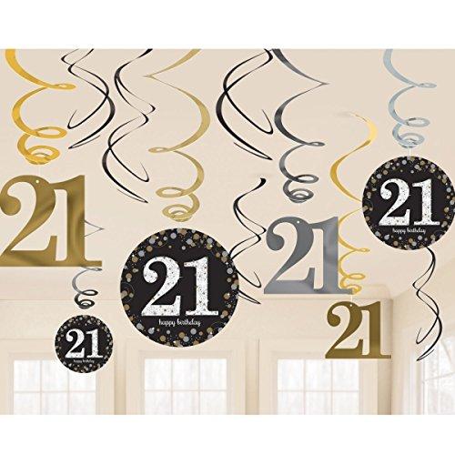 anden-Dekoration zum 21. Jahrestag (Happy Birthday To You Halloween)
