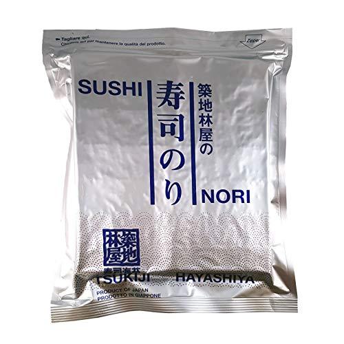 Alghe Sushi Nori HAYASHIYA Quanlita C 50 Fogli