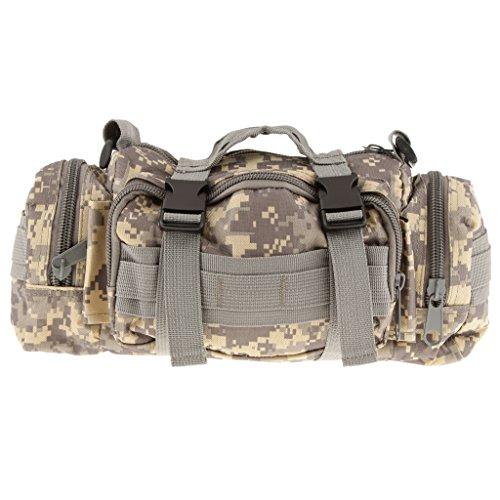 Militär Taktische Hüfttasche Gürteltasche Außenschulter-Handtasche Camping Outdoor Tasche Beutel ACU