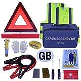 OKVGO auto Euro kit da viaggio per guida europea all' estero ripartizione Safety emergency Tool set