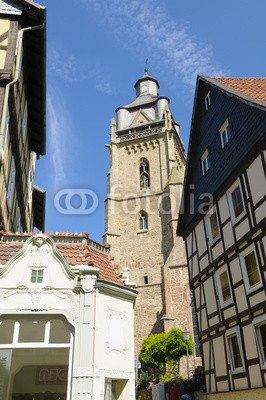 adrium Cure Ville Bad wildungen, Église (43526059), Alu-dibond, 30 x 50 cm