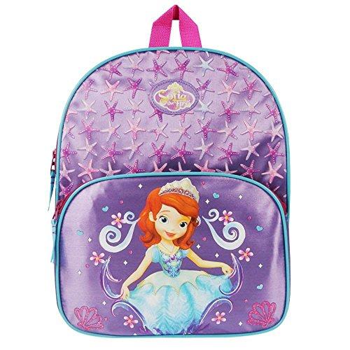 Disney Princess - Sofia die Erste - Kinder Rucksack metallic lila (Princess Disney Lila)