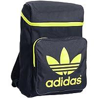 Adidas BP Classic - Mochila, Color Gris/Amarillo