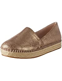 Steve Madden EMME - Zapatos de Cordones para Mujer, Color Dorado, Talla 39