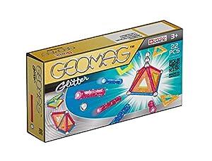 Geomag- Classic Glitter Construcciones magnéticas y Juegos educativos,, 22 Piezas (530)