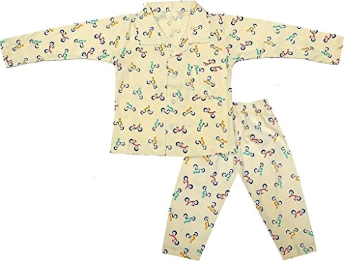 Krystle Boys' Cotton Night Suit Set