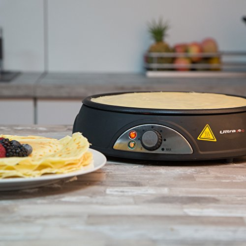 Ultratec Crêpes-Maker, Durchmesser 28 cm, 1.000 Watt -