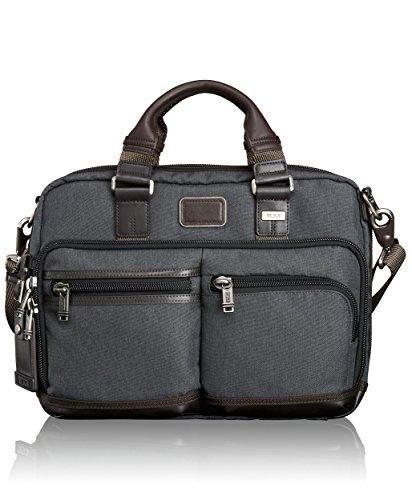 Tumi Andersen Slim Commuter Brief - Bolso bandolera Hombre, gris oscuro (Gris) - 0222640AT2
