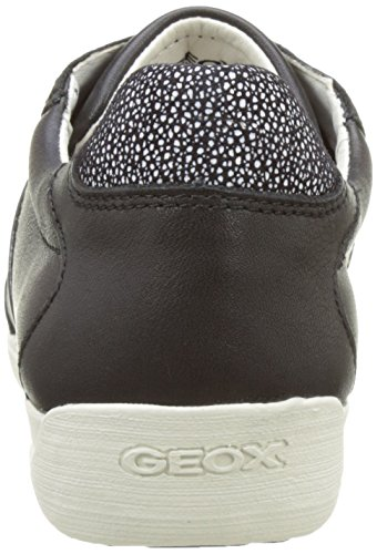 Geox D Myria A, Scarpe da Ginnastica Basse Donna Nero (Blackc9999)