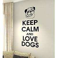 Keep Calm And Love Cani–Bulldog francese Animali