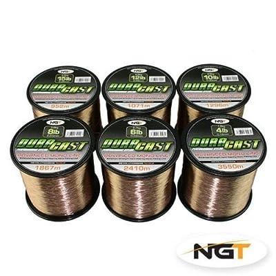 New NGT DuraCast Carp Coarse Fishing Line In BULK SPOOLS 4lb 6lb 8lb 10 12lb 15lb by Carp Corner