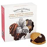 Thomas J Fudge's La Mitad De Dulce De Azúcar Sumergió Madre Blisscuits Jengibre 8 Por Paquete (Paquete de 6)