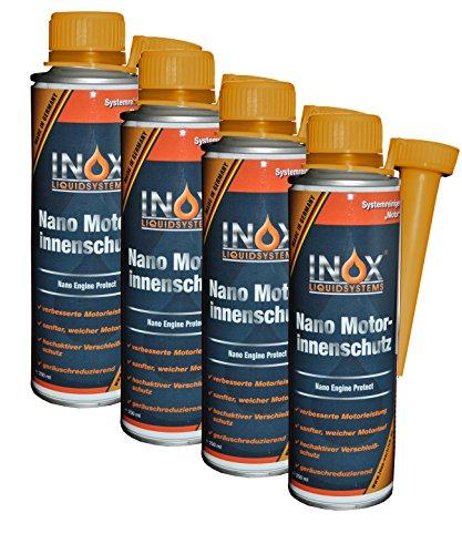 Inox Nano Motor protezione interna Additivo, 4X 250ML-Motore Interno sigillante per tutti i motori auto