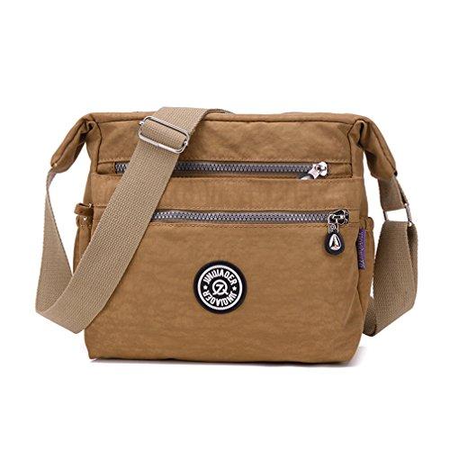 Frauen Messenger Bags für Frauen wasserdichte Nylon Tasche Schulter Crossbody Taschen