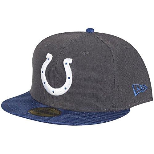 New Era Indianapolis Colts Cap Black Grey–811353597