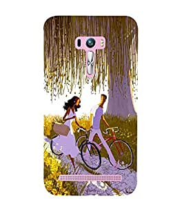 Vizagbeats bicycling lovers Back Case Cover for Asus Zenfone Selfie::Asus Zenfone Selfie ZD551KL