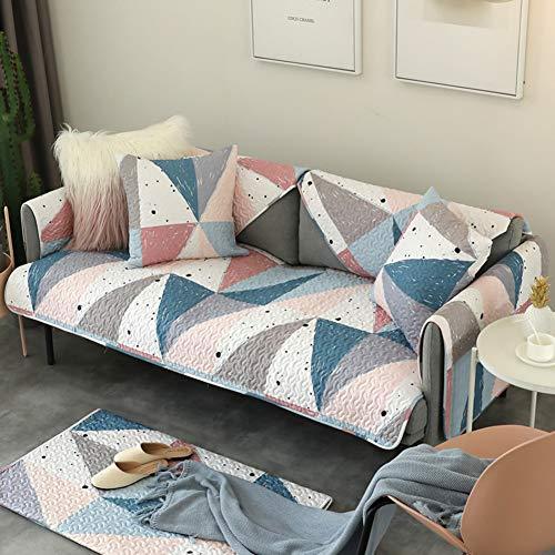 L&ve antisdrucciolo animale domestico cane copridivani, super soft cotone mobili una fodera del divano resistente allo sporco anti-acaro morsetto soldi-b federa:18x18inch