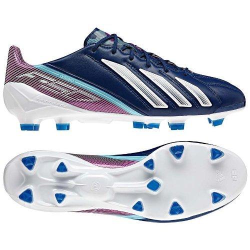 G65304|Adidas F50 Adizero TRX FG Dk Blue|40 2/3 UK 7 (Adidas Adizero Fußball)