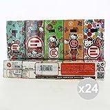Set 24 WORLD Warenkorb Taschentücher 10x9 Hallo Kitty Bad-Accessoires