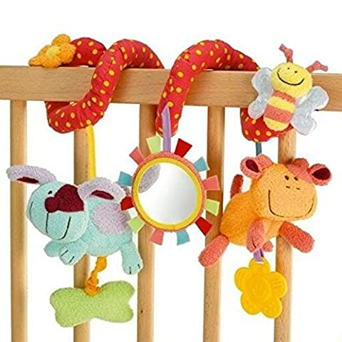 Highdas Baby Multi-function Animal Bed Wrap Toys Cribs Hanging Bells