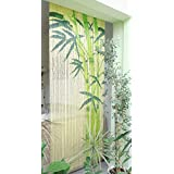 Conacord Bamboo 99 Rideau avec barre de suspension Motif bambou 90 x 200 cm